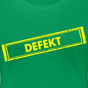 Defekt - Frauen Premium T-Shirt