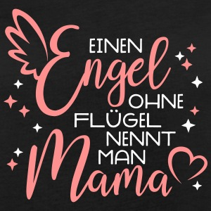 Angel without wings is called MOM mother's day gift T-Shirts - Women's Oversize T-Shirt