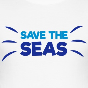 Safe the Seas! T-Shirts - Männer Slim Fit T-Shirt