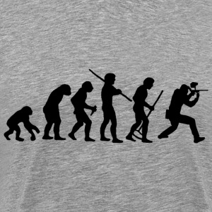 Evolution Of Paintball T-Shirts - Männer Premium T-Shirt