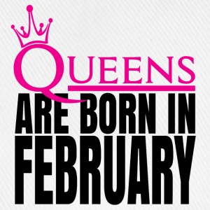 QUEENS ARE BORN IN FEBRUARY Caps & Hats - Baseball Cap