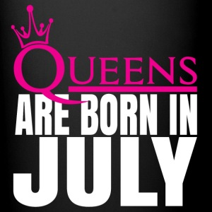 QUEENS ARE BORN IN JULY Mugs & Drinkware - Full Colour Mug