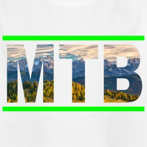 Mountainbike MTB Mountainbiker Downhill Bike T-Shirts - Teenager T-Shirt