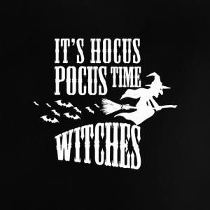 Its Hocus Pocus Time Witches Women Men Halloween Shirts - Baby T-Shirt