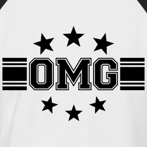 OMG Tee shirts - T-shirt baseball manches courtes Homme