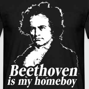 Beethoven Is My Homeboy T-Shirts - Männer T-Shirt