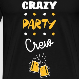Crazy Party Crew - Alcohol - Alcool - Bier - Bière T-shirts - Mannen Premium T-shirt