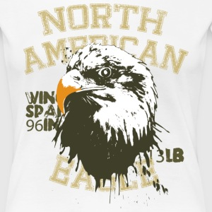 Animal Planet Bald Eagle Facts - Women's Premium T-Shirt
