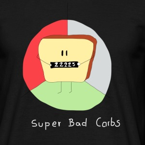 Super Bad Carbs - T-shirt Homme