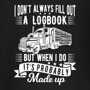 I don't always fill out a logbook made up Långärmade T-shirts - Långärmad T-shirt baby