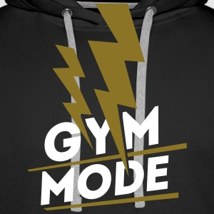Gym Mode, Gym Wear, Fitness Pullover & Hoodies - Männer Premium Hoodie