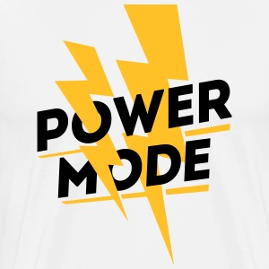 Power Mode, Fitness Center Wear T-Shirts - Männer Premium T-Shirt