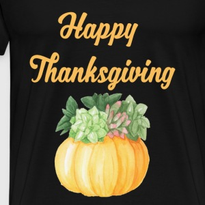 Happy Thanksgiving - Männer Premium T-Shirt