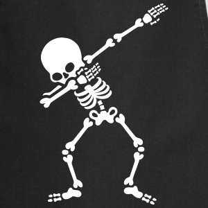 Dabbing skeleton (Dab)  Aprons - Cooking Apron