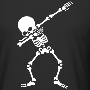 Dabbing skeleton (Dab) T-Shirts - Men's Long Body Urban Tee