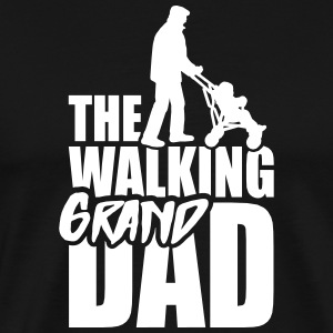 The walking grandad 1clr T-Shirts - Männer Premium T-Shirt