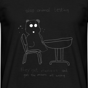 Animal Testing - Men's T-Shirt