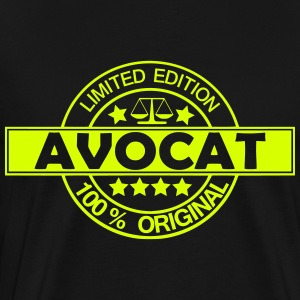 avocat limited edition Tee shirts - T-shirt Premium Homme