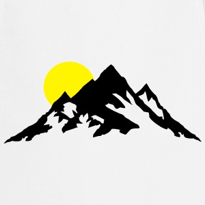 Mountain and Sunrise, montagne Tabliers - Tablier de cuisine