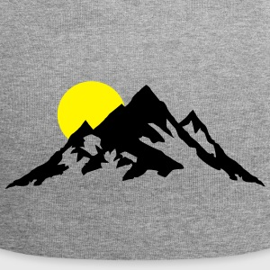 Mountain and Sunrise, Mountains Cappelli & Berretti - Beanie in jersey