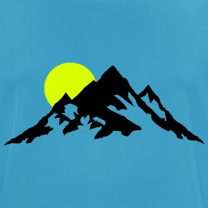 Mountain and Sunrise, Mountains Camisetas - Camiseta hombre transpirable