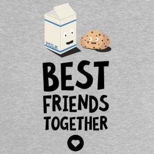 Cookies and Milk Best friends Heart S5f3b Shirts - Baby T-Shirt