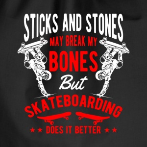 Sticks and Stones break bones Skateboarding Borse & Zaini - Sacca sportiva