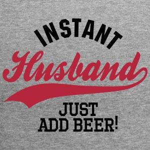 Instant husband just add beer Petten & Mutsen - Jersey-Beanie