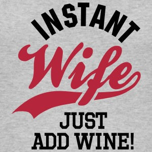 Instant wife just add wine Tops - Women's Organic Tank Top by Stanley & Stella