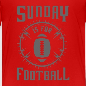Sunday is for Football - awesome sports fandom T-Shirts - Kinder Premium T-Shirt