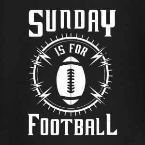 Sunday is for Football - awesome sports fandom Manches longues - T-shirt manches longues Bébé