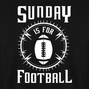 Sunday is for Football - awesome sports fandom Gensere - Genser for menn