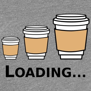 Loading  Coffee ToGo T-Shirts - Frauen Premium T-Shirt