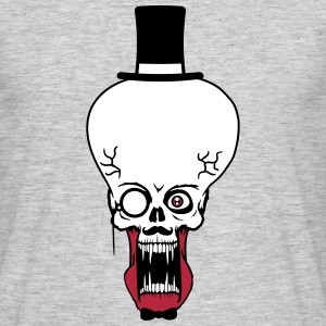 head face gentlemen rich sir mustache mustache cyl T-Shirts - Men's T-Shirt