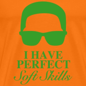 Perfect Softskills - Paradiesvogel - Männer Premium T-Shirt