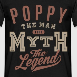 Poppy The Man  - Men's T-Shirt