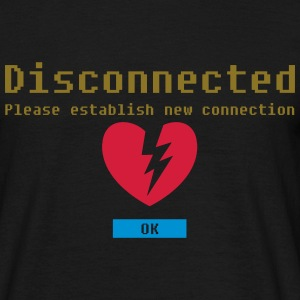 disconnected 03 T-shirts - Mannen T-shirt