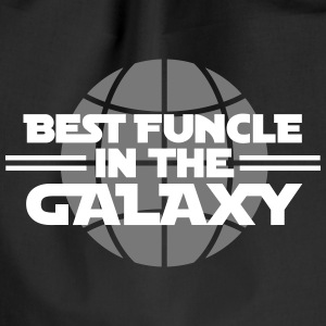 Best funcle in the galaxy Tassen & rugzakken - Gymtas
