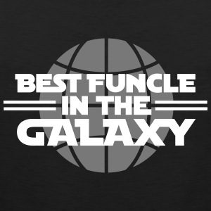 Best funcle in the galaxy Sportbekleidung - Männer Premium Tank Top