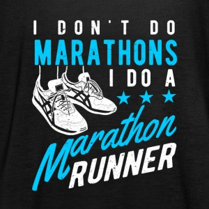 I don't do Marathons i do a Marathon runner  Tops - Women's Tank Top by Bella