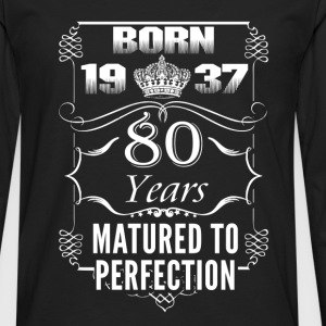 1937-80 years perfection - 2017 - EN Long sleeve shirts - Men's Premium Longsleeve Shirt