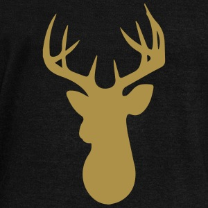 Stag Head Hoodies & Sweatshirts - Women's Boat Neck Long Sleeve Top