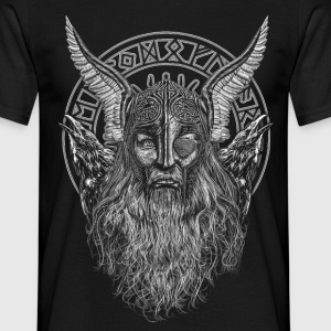 ODIN AND HIS RAVENS - T-shirt herr