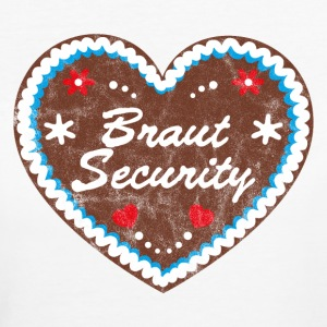 Lebkuchenherz Braut Security JGA T-Shirts - Frauen Bio-T-Shirt