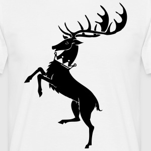 Coat of thrones - Männer T-Shirt