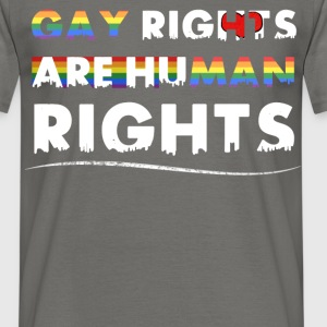 Gay Rights - Gay rights are human rights - Men's T-Shirt