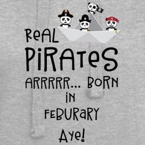 Real Pirates are born in FEBRUARY S06h6 Hoodies & Sweatshirts - Hoodie Dress