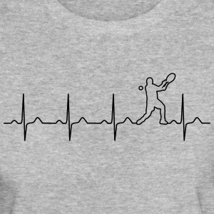 Tennis heartbeat - mit hjerte slår for tennis T-shirts - Organic damer