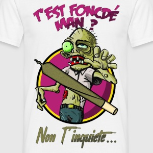 foncdé zombie.png Tee shirts - T-shirt Homme