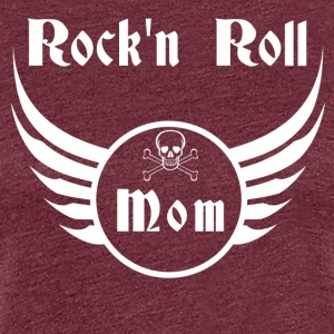 Rock and roll mom  Tee shirts - T-shirt Premium Femme